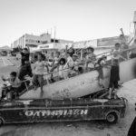 Afghanistan kids at Elliniko refugee camp, Athens, Greece 08/2016