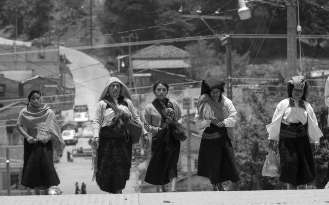 Tzotzil women in Chamula, Mexico