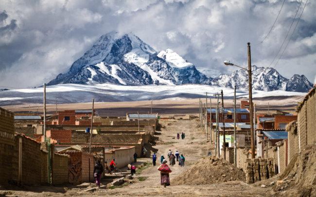 Mount Huayna Potosi,El Alto, La Paz, Bolivia