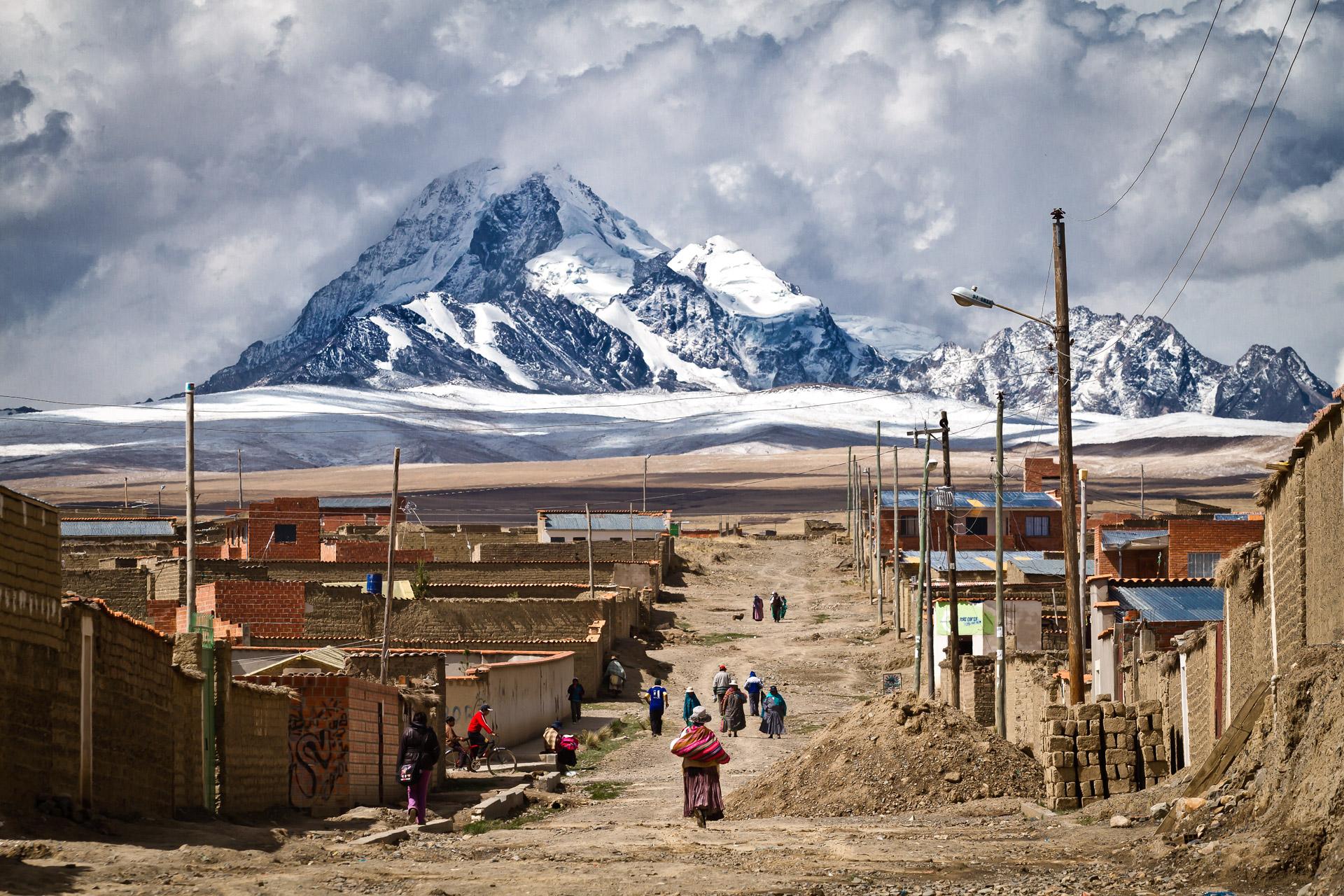 Mount Huayna Potosi in la Paz Bolovia by Marc Hors size 1920x1280