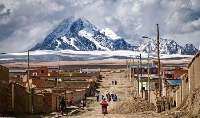 Mount Wuayna Potosi-Bolivia