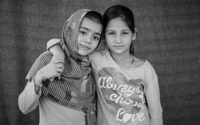 People from Afghanistan at Elliniko refugee camp Greece 2016