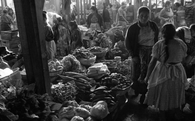 Vegetable Market - Antigua, Guatemala